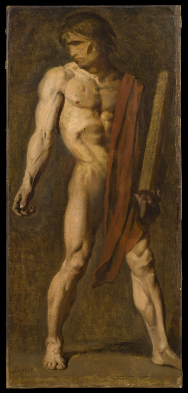 The Martyrdom of St Symphorian. Study
