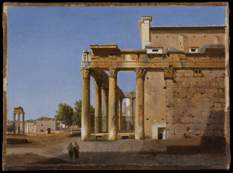 The Temple of Antoninus and Faustina - San Lorenzo in Miranda, Rome