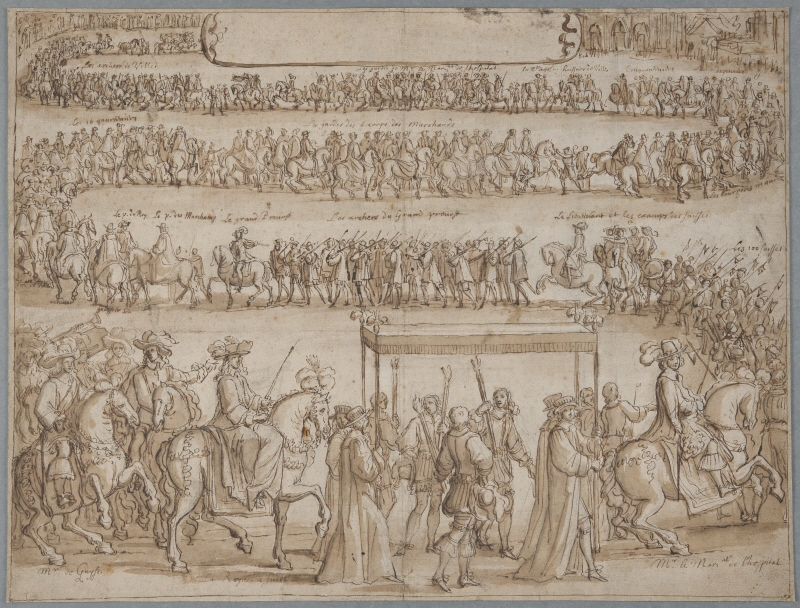 The Entry of Queen Christina of Sweden into Paris on 8 September 1656