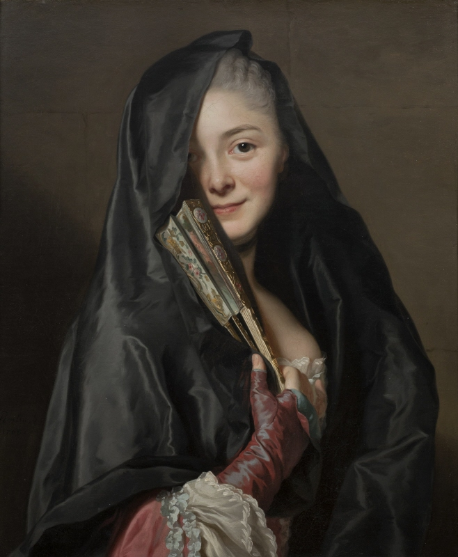The Lady with the Veil. The Artist's Wife Marie Suzanne Giroust