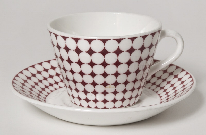 "Cup and saucer ""Eva"""
