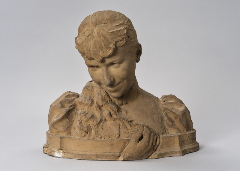 Sculpted portait of a Woman, 1891